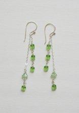 Dangling Chain Crystal Earrings Project