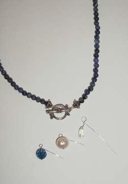 Sodalite Toggle Necklace
