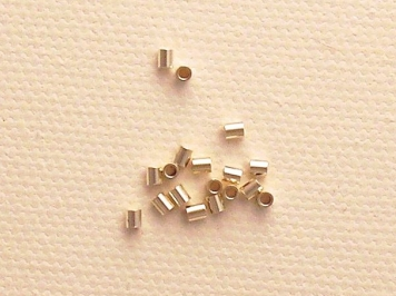 Photo of crimp beads or crimping beads for making jewelry