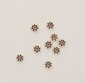 Photo of daisy spacer beads