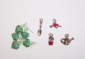 Garden Charm Bracelet Project