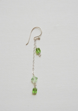 Dangling Chain Crystal Earrings Project