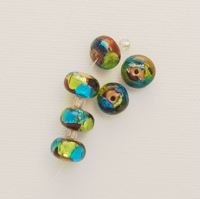 Photo of lampwork beads