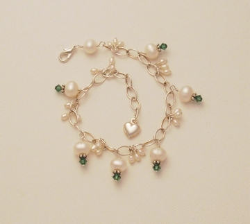 Pearl and Crystal Bracelet Project