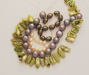 Photo of pearl beads