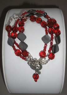 Red Crystal Bracelet