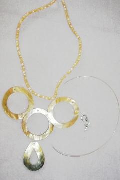 Shell Bead Pendant