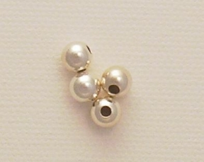 Photo of sterling silver beads
