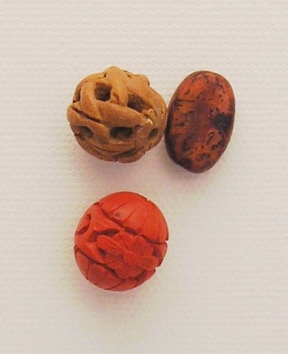 Photo of wood beads