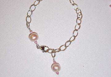 Word Bead Charm Bracelet Project