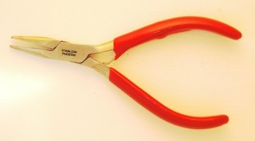 Photo of chain nose pliers or flat nose jewelry pliers