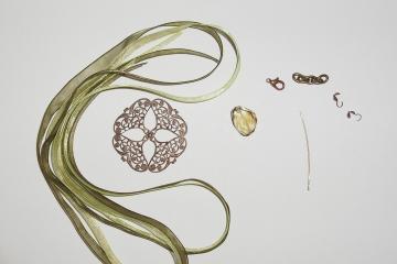 Vintage Filigree Pendant