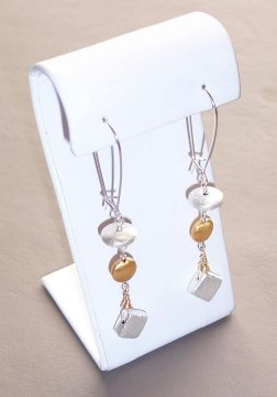 Geometric Bead Earrings