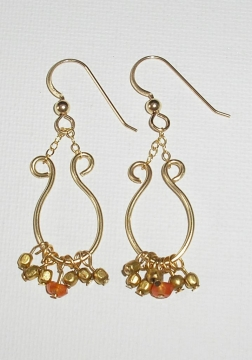 Stupendous Making Jewelry Com Gold Wire Fringe Earrings Wiring Cloud Hisonuggs Outletorg