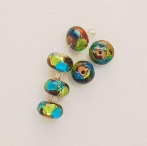 Photo of lampwork beads