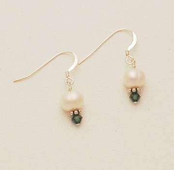Pearl and Crystal Earrings Project